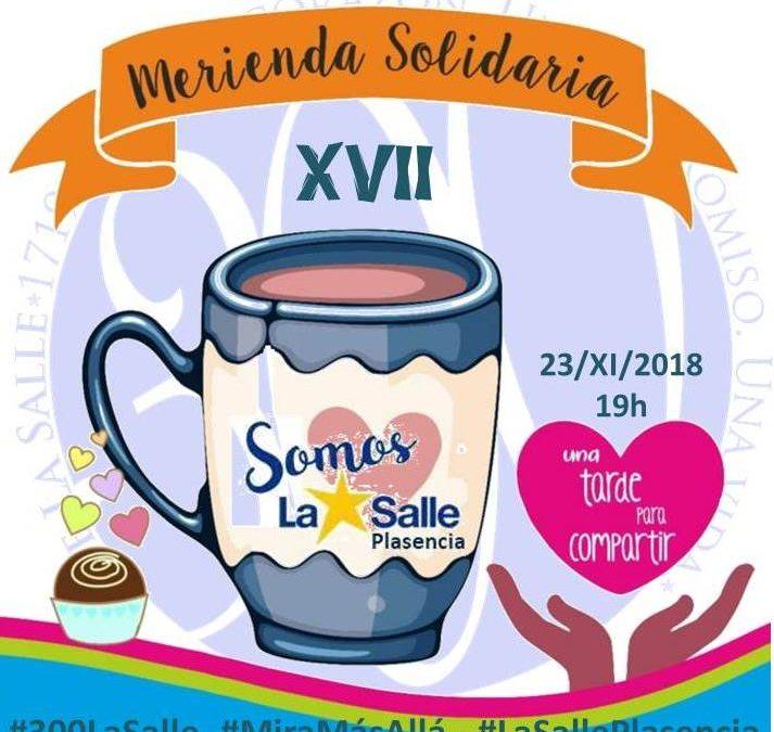 XVII MERIENDA SOLIDARIA