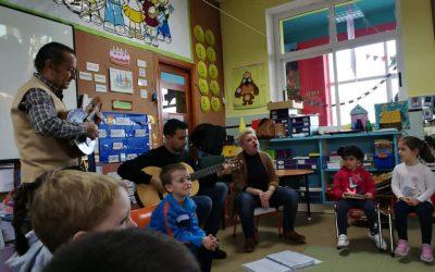 Infantil: Proyecto con la música