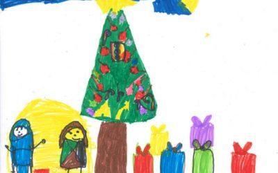Tercer Premio Tarjetas de Navidad Cáritas