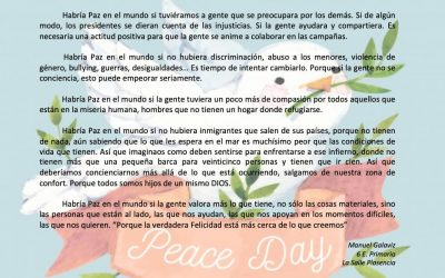 Habría paz en el mundo si…