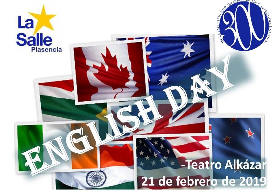 ENGLISH DAY en La Salle Plasencia