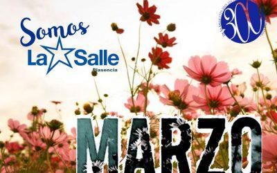 Agenda Marzo de 2019 de La Salle – Plasencia