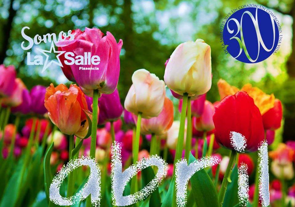 Agenda del mes de abril de La Salle Guadalupe