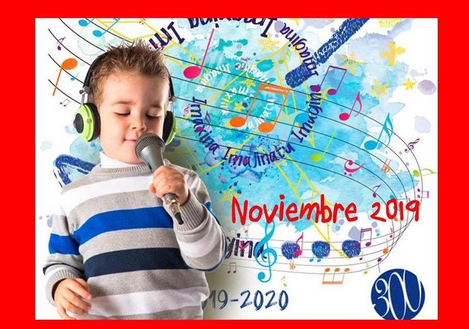 Agenda de Noviembre 2019
